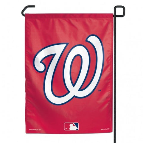 Washington Nationals Flag 12x18 Garden Style 2 Sided