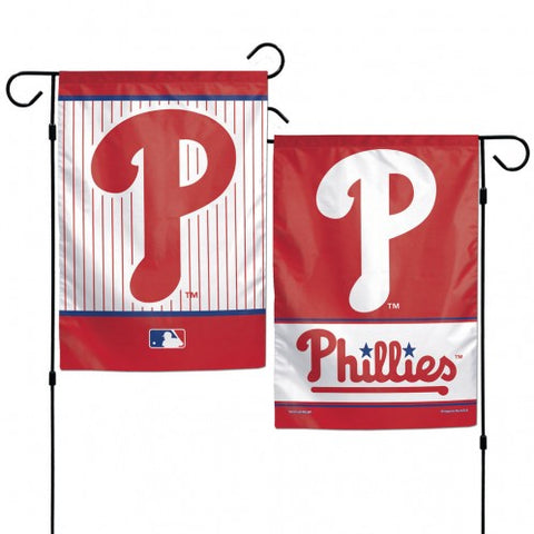 Philadelphia Phillies Flag 12x18 Garden Style 2 Sided