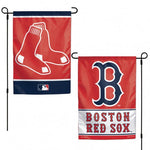 Boston Red Sox Flag 12x18 Garden Style 2 Sided
