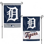 Detroit Tigers Flag 12x18 Garden Style 2 Sided