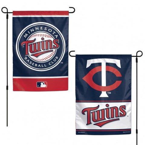 Minnesota Twins Flag 12x18 Garden Style 2 Sided