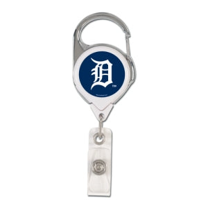 Detroit Tigers Retractable Premium Badge Holder