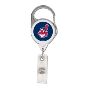 Cleveland Indians Retractable Premium Badge Holder