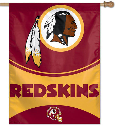 Washington Redskins Banner 28x40 Vertical