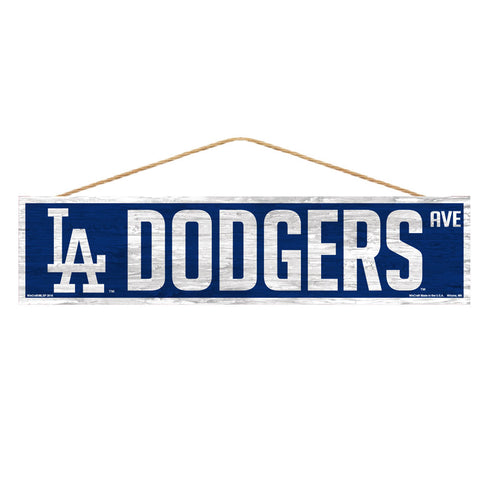 Los Angeles Dodgers Sign 4x17 Wood Avenue Design