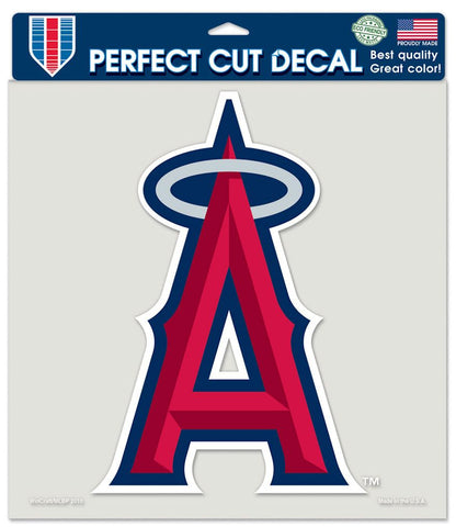 Los Angeles Angels of Anaheim Decal 8x8 Die Cut Color