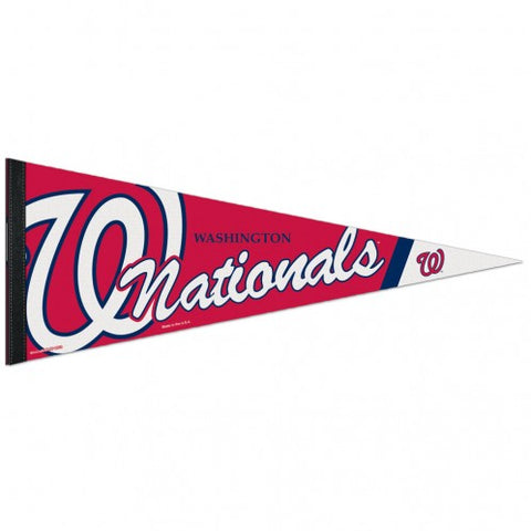 Washington Nationals Pennant 12x30 Premium Style