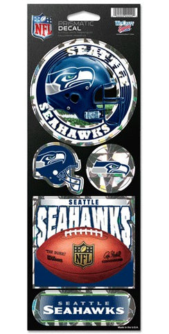 Seattle Seahawks Stickers Prismatic