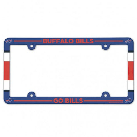 Buffalo Bills Full Color License Plate Frame