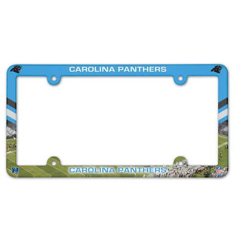 Carolina Panthers Full Color License Plate Frame