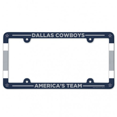 Dallas Cowboys Full Color License Plate Frame