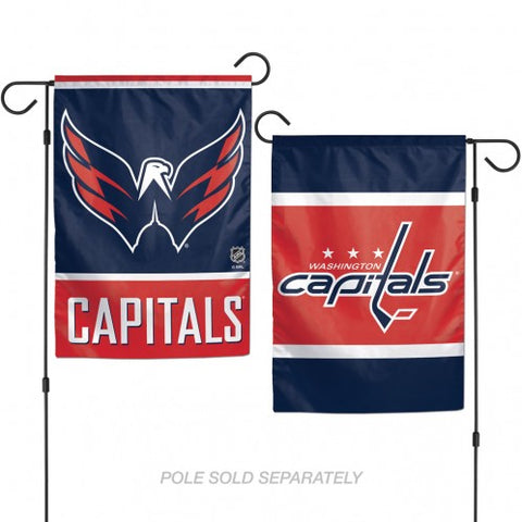 Washington Capitals Flag 12x18 Garden Style 2 Sided