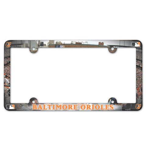 Baltimore Orioles License Plate Frame - Full Color