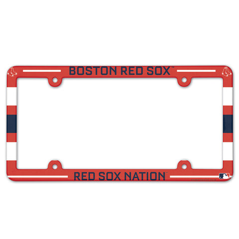 Boston Red Sox License Plate Frame - Full Color