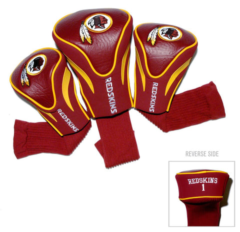 Washington Redskins Golf Club 3 Piece Contour Headcover Set
