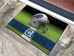 Buffalo Bills Door Mat 18x30 Welcome Crumb Rubber