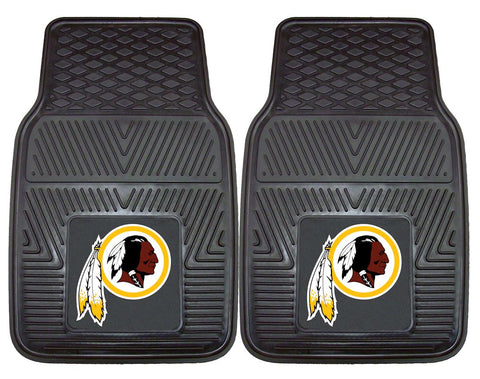 Washington Redskins Car Mats Heavy Duty 2 Piece Vinyl