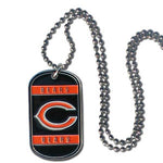Chicago Bears Necklace Tag Style