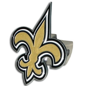 New Orleans Saints Trailer Hitch Logo Cover