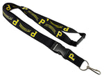 Pittsburgh Pirates Lanyard Black