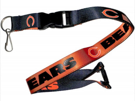 Chicago Bears Lanyard Reversible