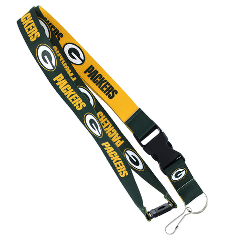 Green Bay Packers Lanyard Reversible