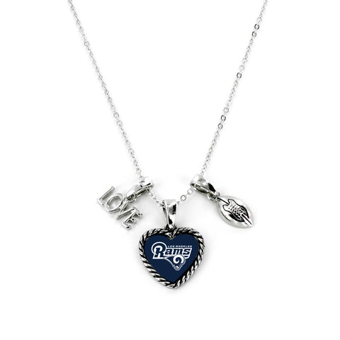 Los Angeles Rams Necklace Charmed Sport Love Football