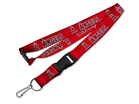 Los Angeles Angels Lanyard Red