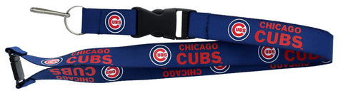 Chicago Cubs Lanyard Blue