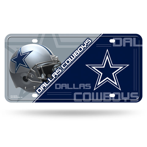 Dallas Cowboys License Plate Metal