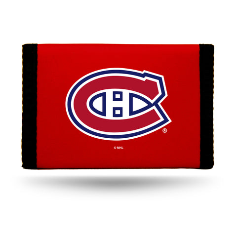 Montreal Canadiens Wallet Nylon Trifold