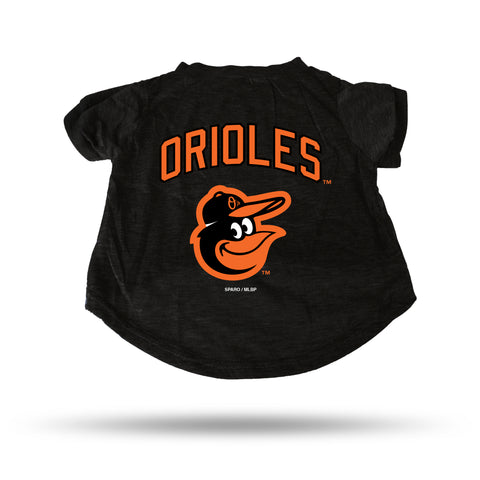 Baltimore Orioles Pet Tee Shirt Size S