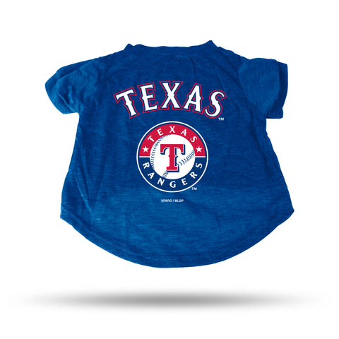 Texas Rangers Pet Tee Shirt Size L