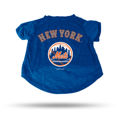 New York Mets Pet Tee Shirt Size XL