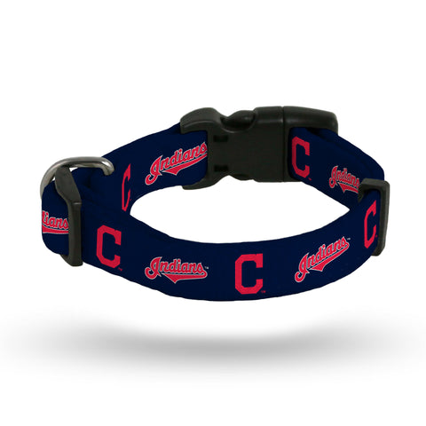 Cleveland Indians Pet Collar Size L