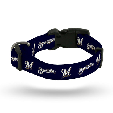 Milwaukee Brewers Pet Collar Size M