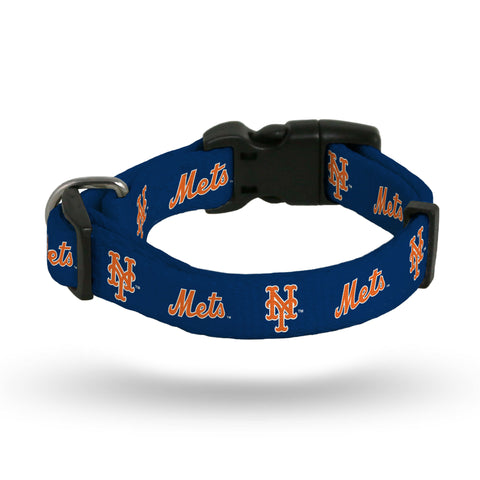 New York Mets Pet Collar Size S
