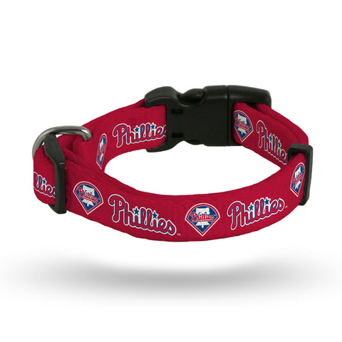 Philadelphia Phillies Pet Collar Size M