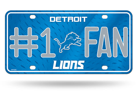 Detroit Lions License Plate #1 Fan