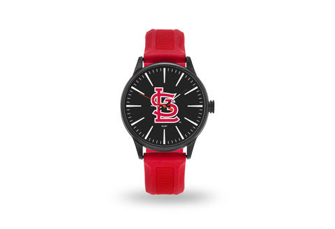 St. Louis Cardinals Watch Men's Cheer Style with Red Watch Band