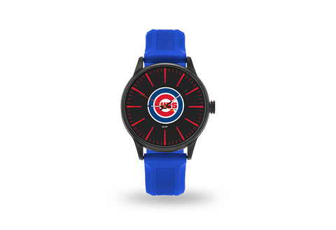 Chicago Cubs Watch Men's Cheer Style with Royal Watch Band