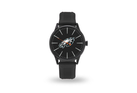 Philadelphia Eagles Watch Men's Cheer Style with Black Watch Band