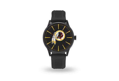 Washington Redskins Watch Men's Cheer Style with Black Watch Band