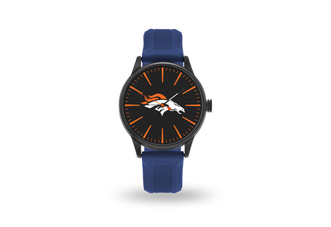 Denver Broncos Watch Men's Cheer Style with Navy Watch Band