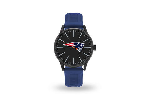 New England Patriots Watch Men's Cheer Style with Navy Watch Band