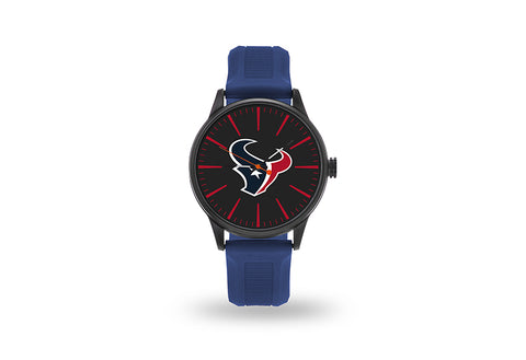 Houston Texans Watch Men's Cheer Style with Navy Watch Band