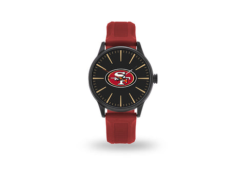 San Francisco 49ers Watch Men's Cheer Style with Red Watch Band