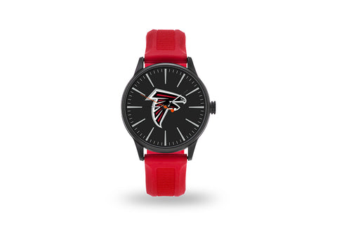 Atlanta Falcons Watch Men's Cheer Style with Red Watch Band