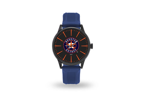 Houston Astros Watch Men's Cheer Style with Navy Watch Band