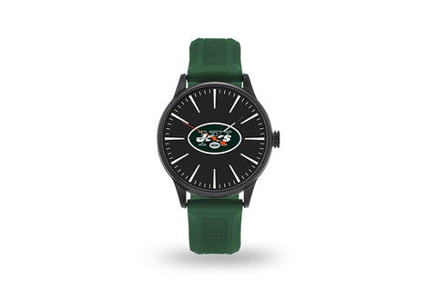 New York Jets Watch Men's Cheer Style with Green Watch Band